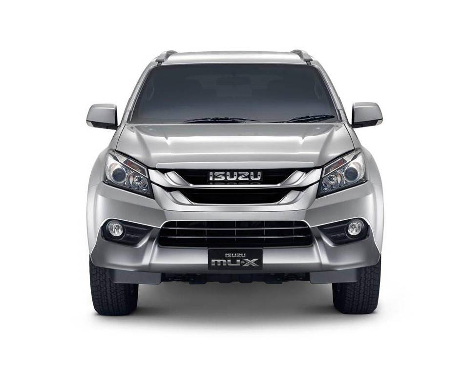 Новый Isuzu MU-X 2014 на базе Chevrolet Trailblazer