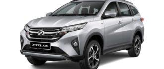 Ещё один близнец рамного кросса Toyota Rush: теперь только с «автоматом»