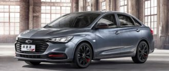 Chevrolet Monza оправдала звание бюджетной альтернативы Cruze: у новинки скромное оснащение