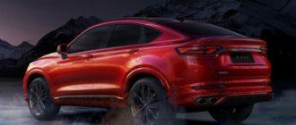 Кросс-купе Geely дебютировало в топ-версии с 238-сильным мотором Volvo