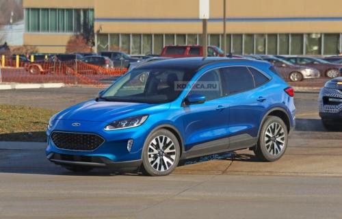 Новый Ford Kuga 2020