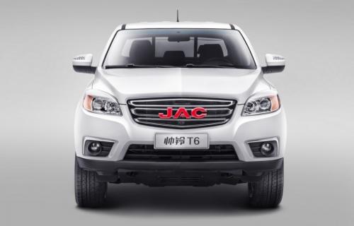 Конфуз: пикап JAC T6 по пути в Россию потерял «понижайку»