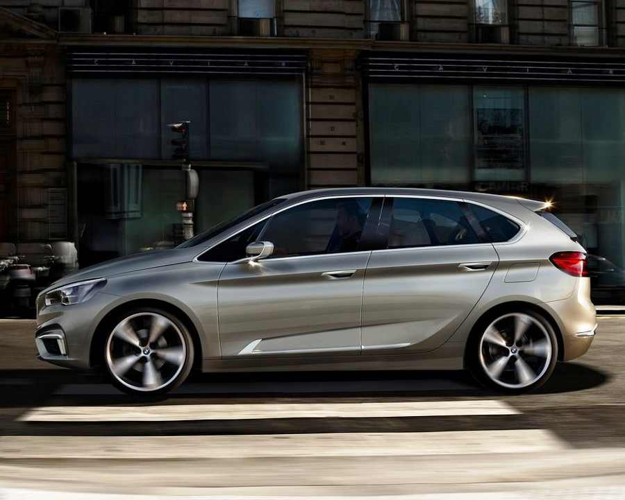 Концепт BMW Active Tourer 2012: фото, характеристики, видео