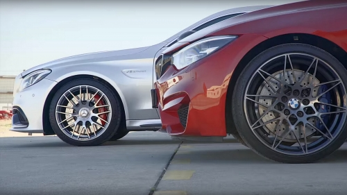 Автобаттл: BMW M4 Competition против Mercedes-AMG C 63 S Coupe